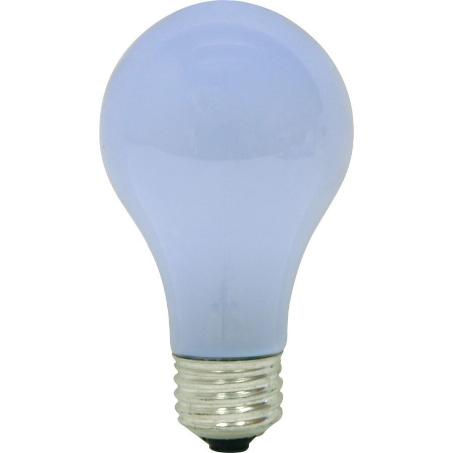 GE 2-Pack 43 Watt Dimmable Color-Enhancing A19 Halogen Light Fixture Light Bulb