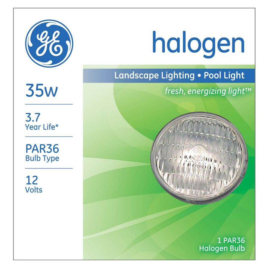 GE 35 Watt Dimmable Bright White PAR36 Halogen Flood Light Bulb