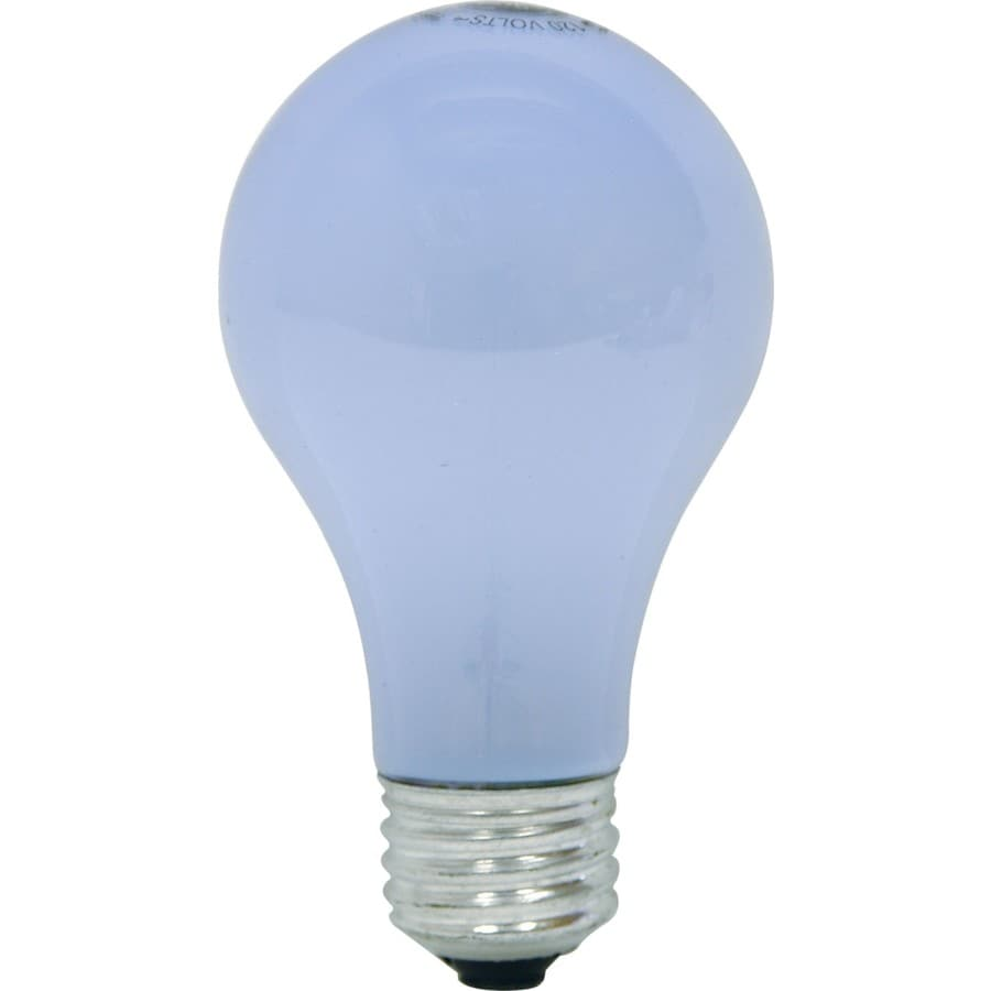 GE 8-Pack 40 Watt for Indoor or Enclosed Outdoor Dimmable Color-Enhancing A19 Incandescent Light Fixture Light Bulbs