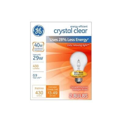 Ge Halogen Light Bulbs At Lowes Com
