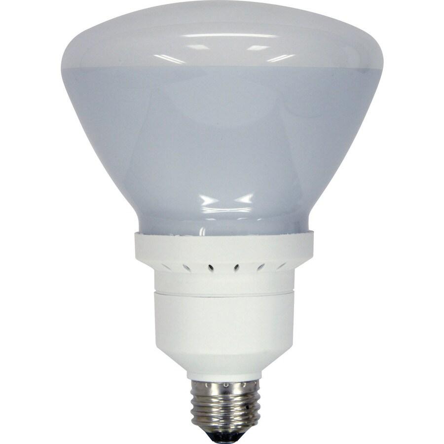 Shop GE 90W Equivalent Soft White Br40 CFL Flood Light