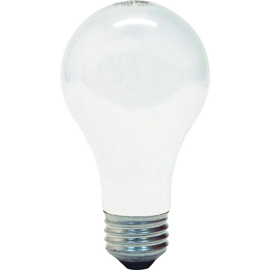GE 4-Pack 72 Watt Dimmable Soft White A19 Halogen Light Fixture Light Bulb