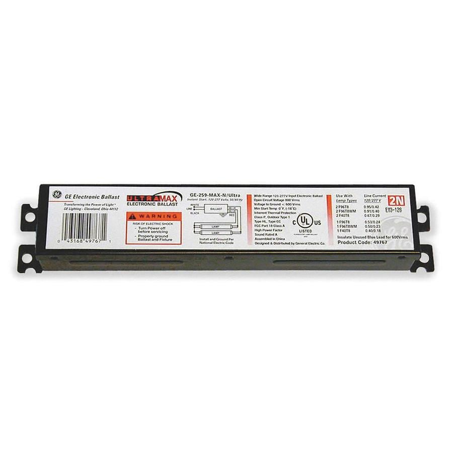 GE ProLine 1-Bulb Residential/Commercial Electronic Fluorescent ...