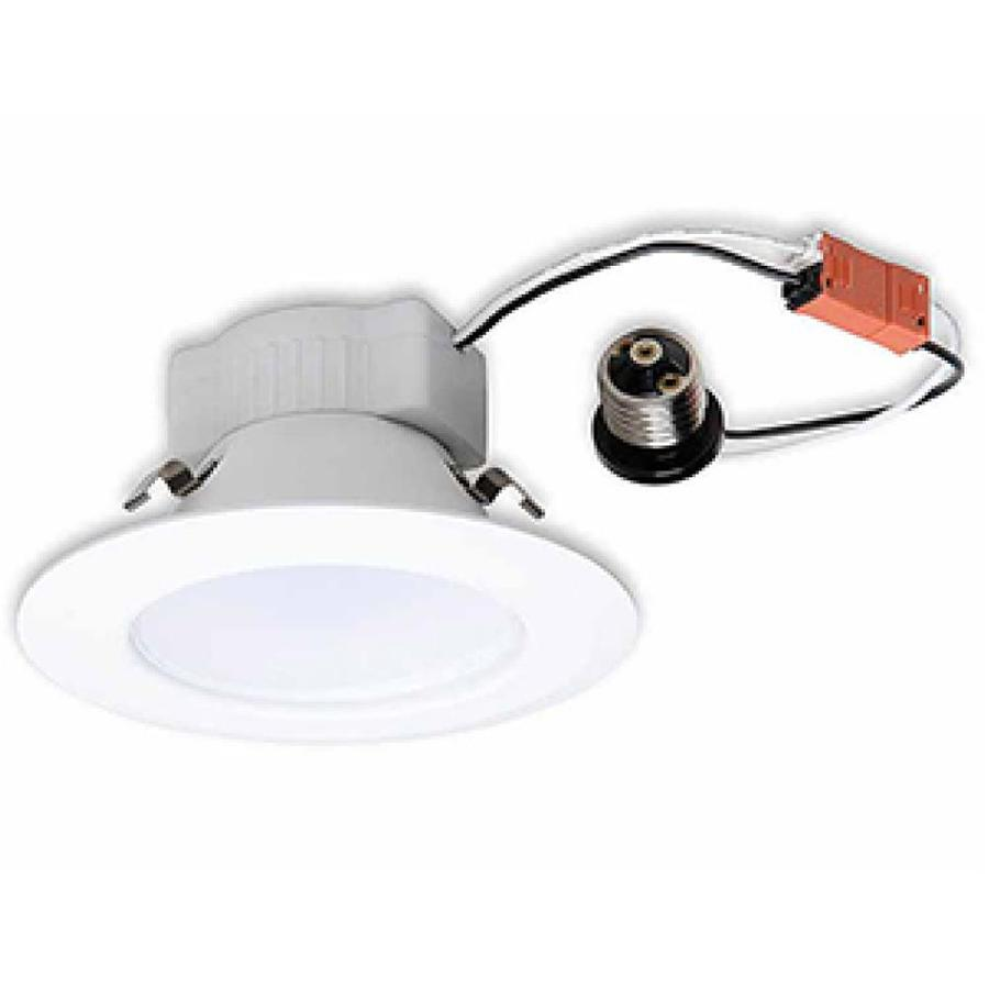 Ge Luminaire 10 Watt Equivalent White Dimmable Recessed
