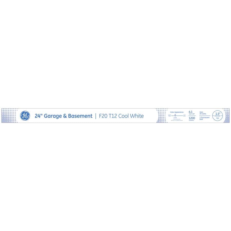 Shop GE 24-in Medium Bi-pin (T12) 20-Watt 4100 K Cool White ...