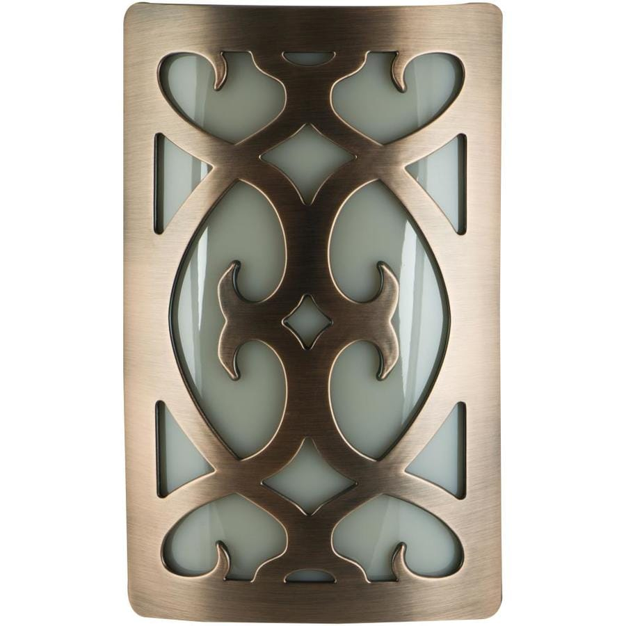 allen + roth Oil Rubbed Bronze LED Night Light with Auto On/Off