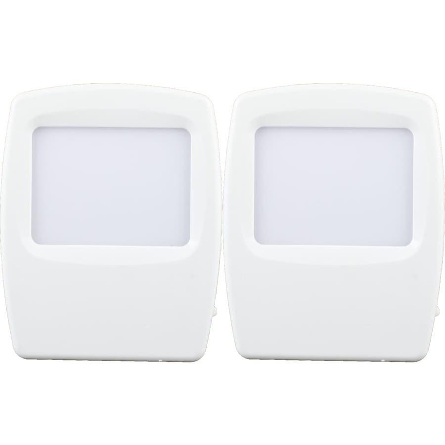 Style Selections 2-Pack White with Blue Screen LED Night Lights