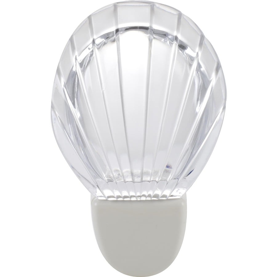Style Selections White with Clear Shade LED Night Light