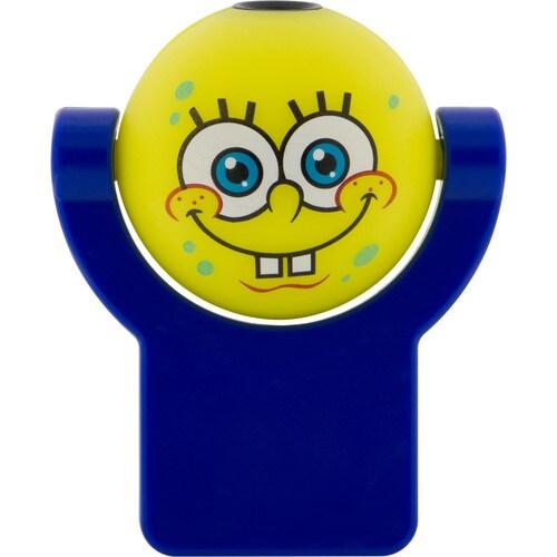 SpongeBob SquarePants Yellow LED Night Light Auto On/Off