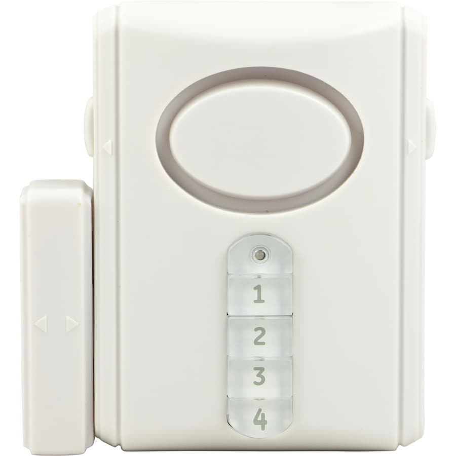 Charmant GE White Security Alarm Keypad