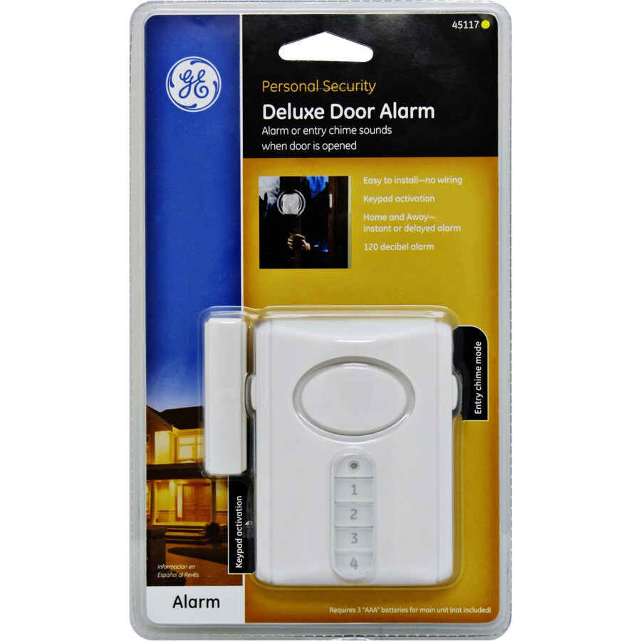 GE White Security Alarm Keypad