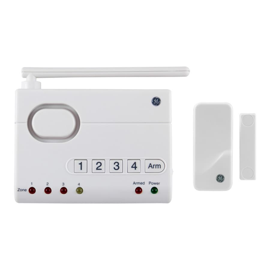 Charmant GE Choice Alert Wireless Alarm Control Center With Window Sensor