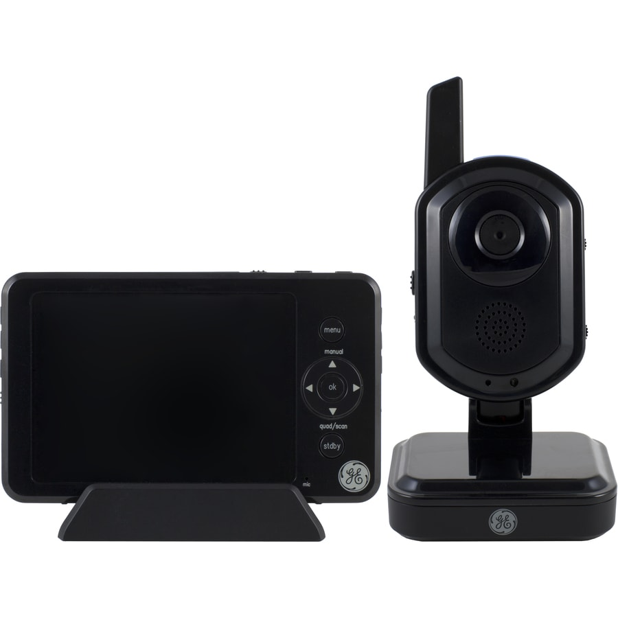 GE 3.5-in Digital Wireless RF Outdoor Security Camera with Night Vision