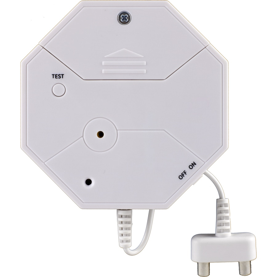 GE White Indoor Flood Sensor