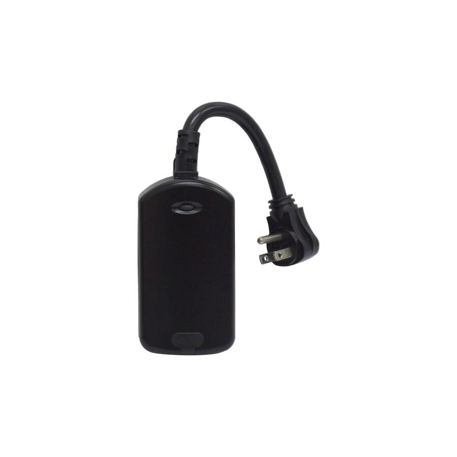 GE Iris 15-Amp 125-Volt Black