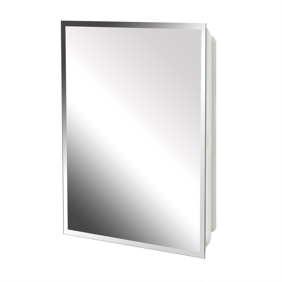 Zenith 16-in x 17.5-in Surface/Recessed Medicine Cabinet