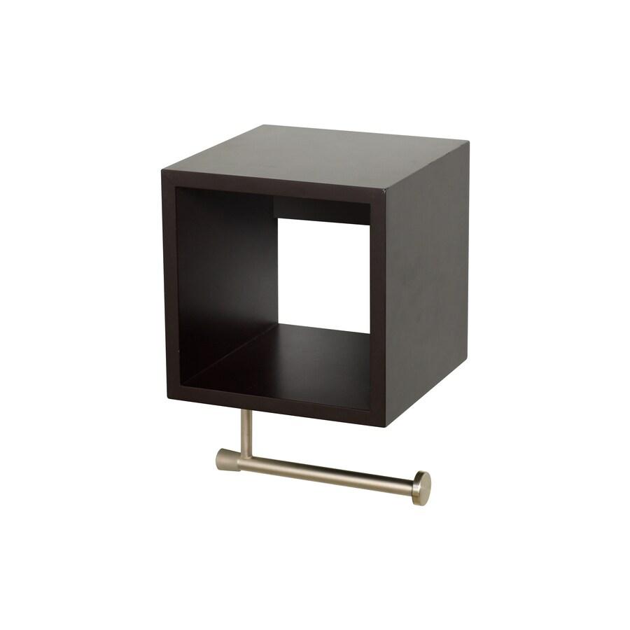 Zenith Espresso Surface Mount Toilet Paper Holder