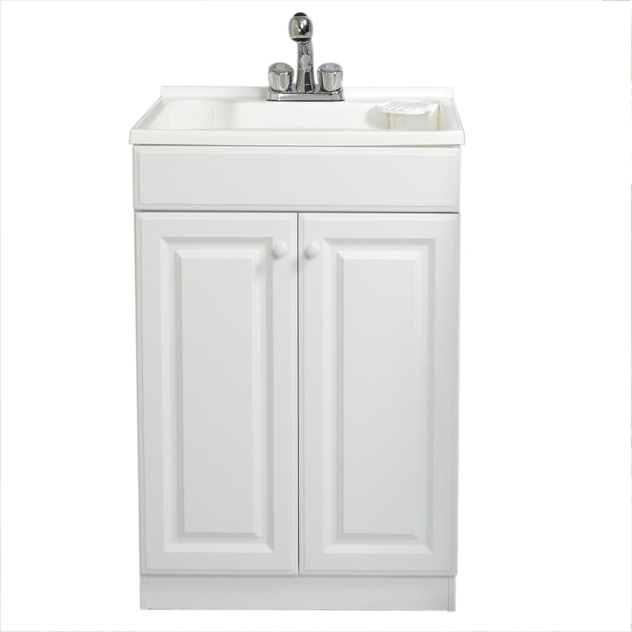 Shop Style Selections 2425in x 245in White Freestanding