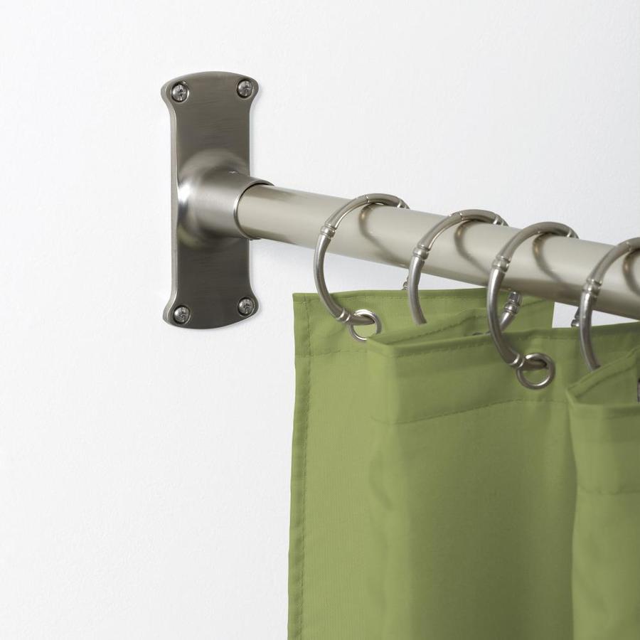 L Shaped Shower Rod