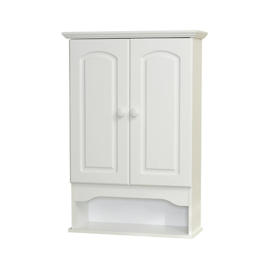 Zenith Bathroom Cabinets: Shop Zenith 20.8-in W X 30.5-in H X 7.13-in D White