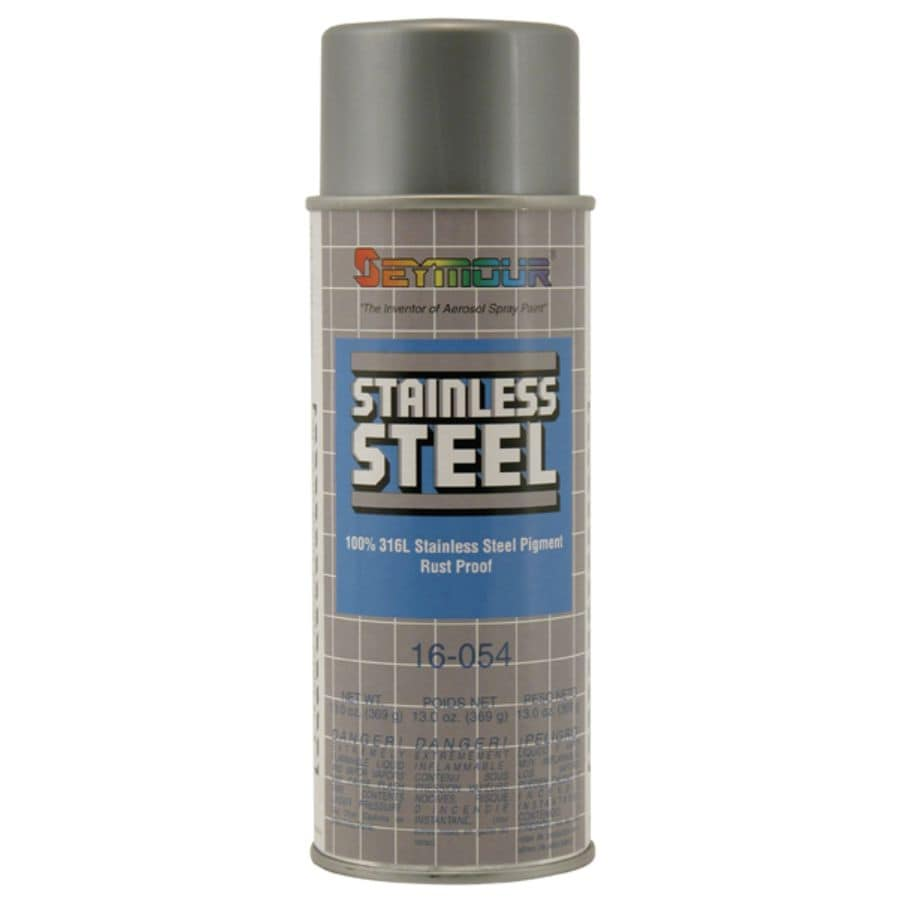 Shop seymour stainless steel indoor outdoor spray paint actual net contents oz at Spray paint for metal