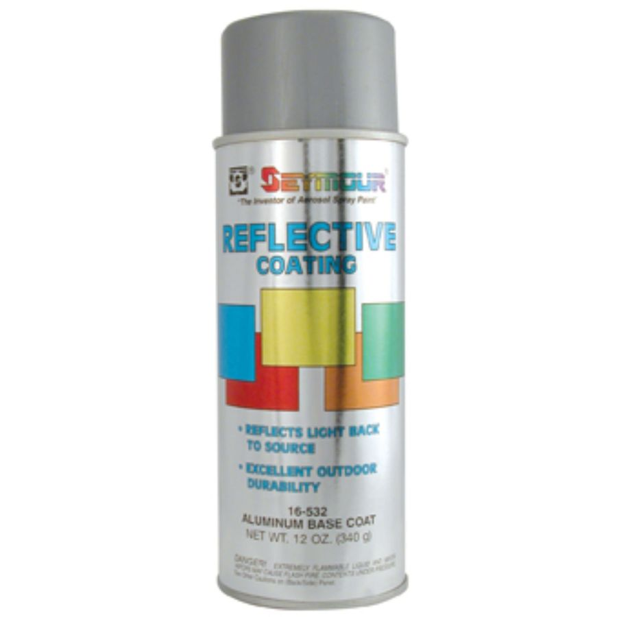 Seymour Aluminum Base Coat Spray Paint At Lowes Com
