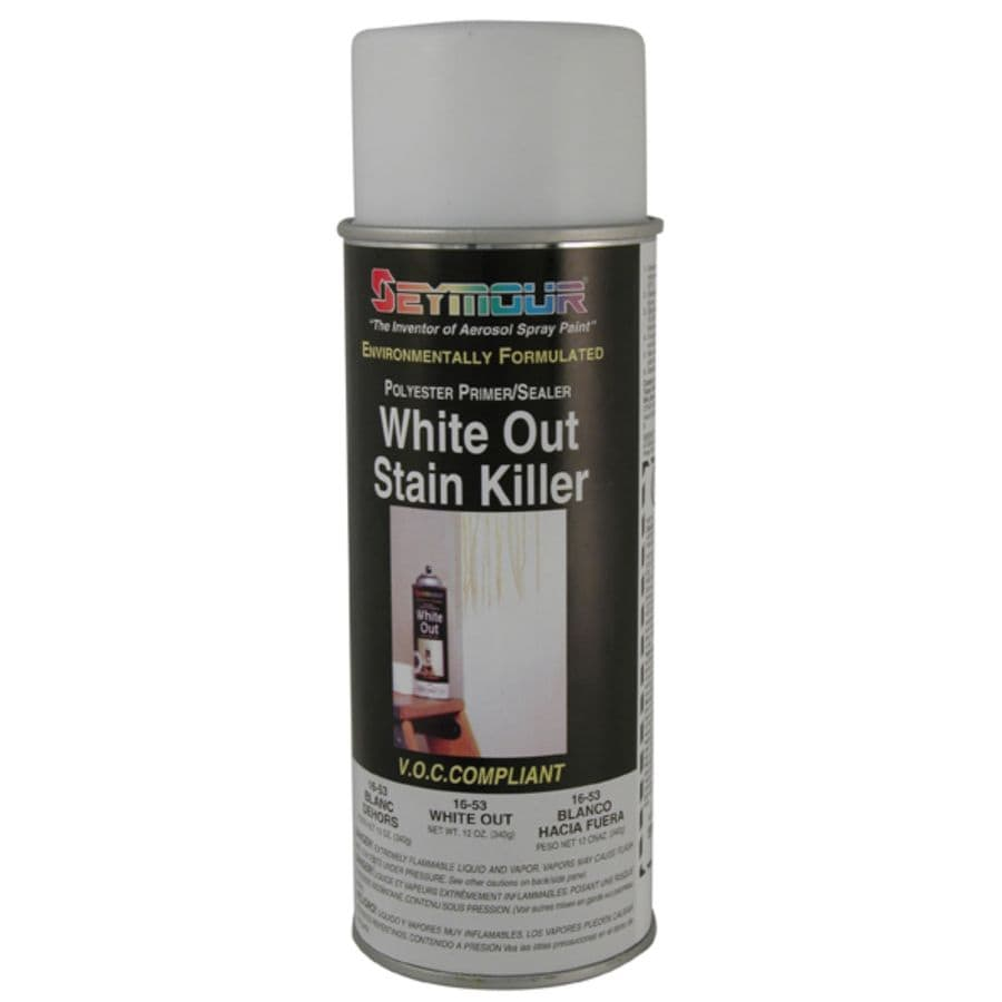 Shop seymour white indoor outdoor spray paint actual net contents oz at Outdoor spray paint