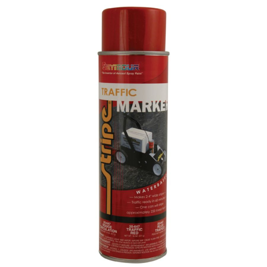 Shop seymour red indoor outdoor spray paint actual net contents oz at Outdoor spray paint