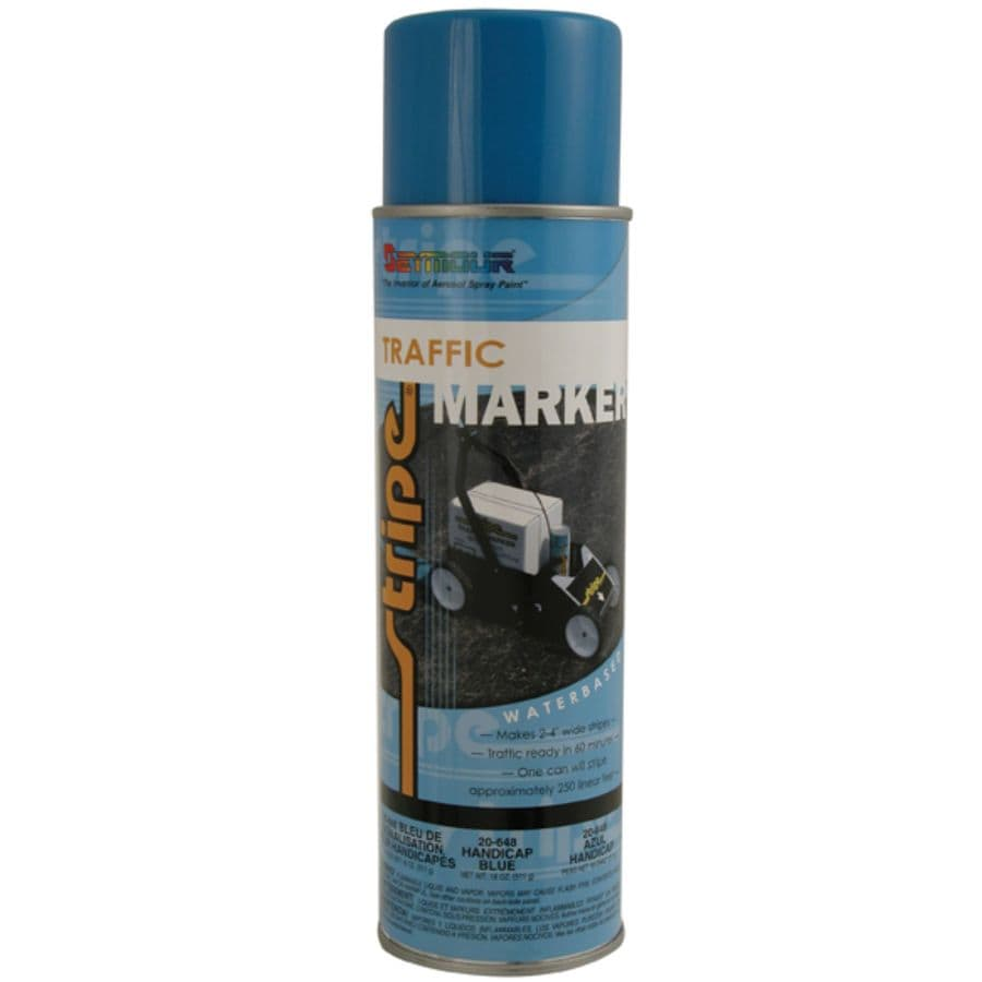 SEYMOUR Handicap Blue Indoor/Outdoor Spray Paint (Actual Net Contents:-oz)