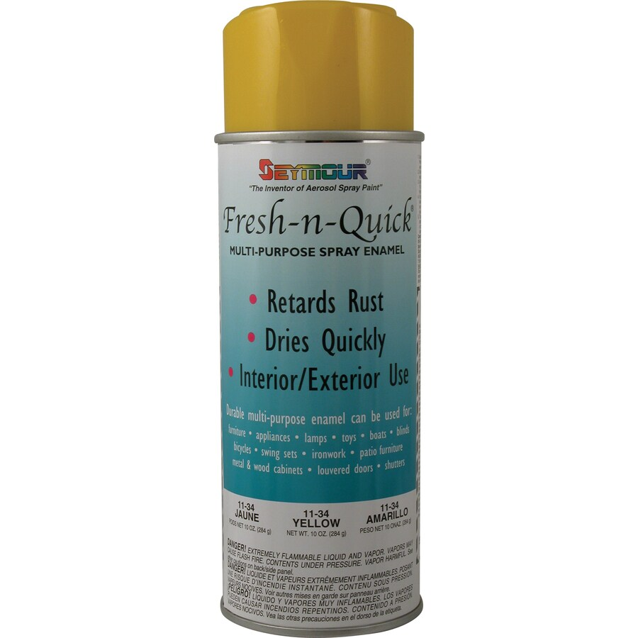 SEYMOUR Yellow Indoor/Outdoor Spray Paint