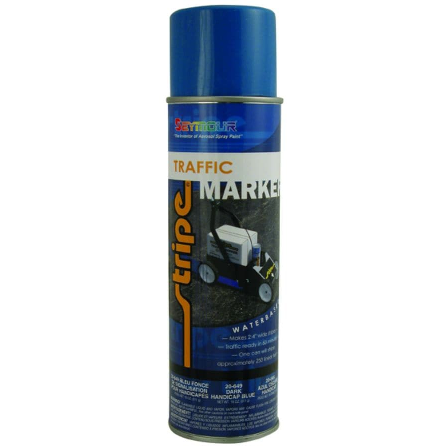 SEYMOUR Handicap Dark Blue Indoor/Outdoor Spray Paint