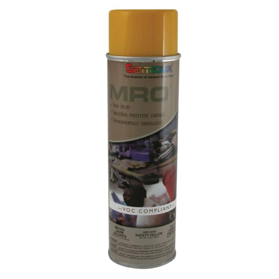 Shop seymour safety yellow spray paint at for Spray paint safety