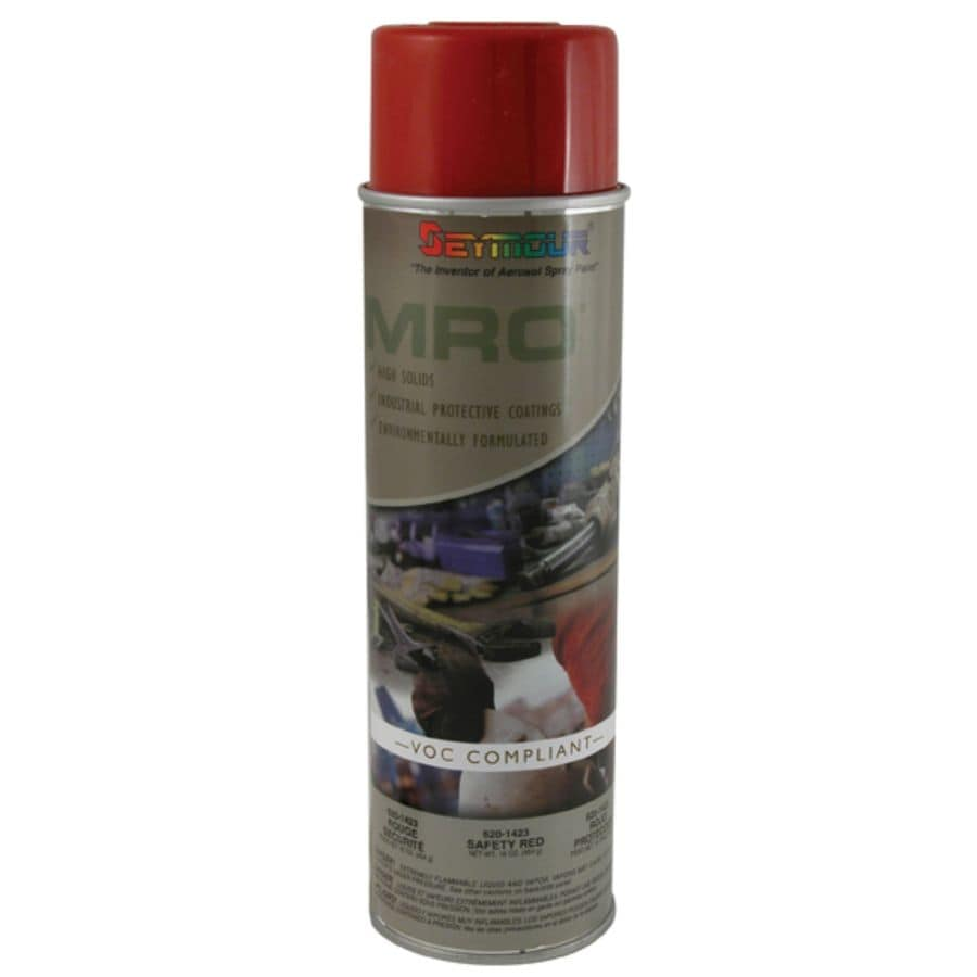 SEYMOUR Safety Red Indoor/Outdoor Spray Paint (Actual Net Contents:-oz)