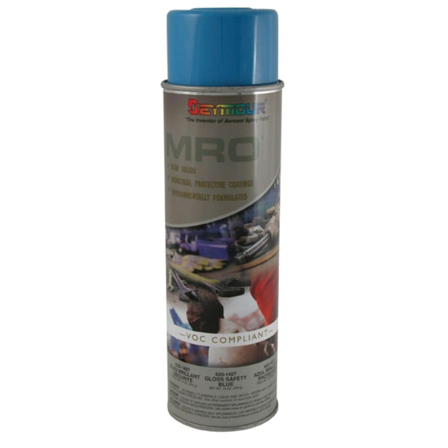 SEYMOUR Safety Blue Indoor/Outdoor Spray Paint (Actual Net Contents:-oz)