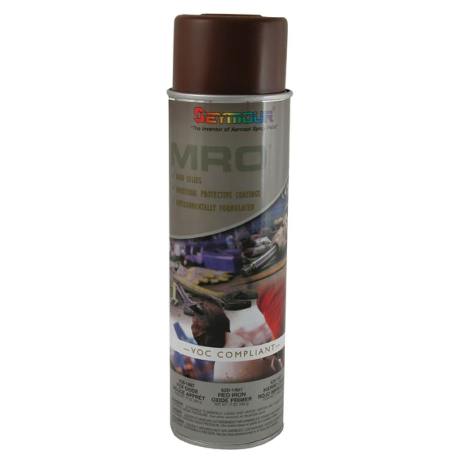 Shop Seymour Red Indoor Outdoor Spray Paint Actual Net Contents Oz At