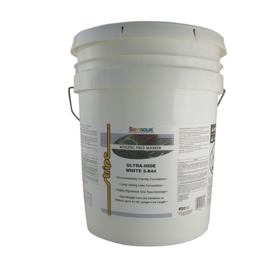 SEYMOUR White Water-Based Marking Paint (Actual Net Contents: 640-fl oz)