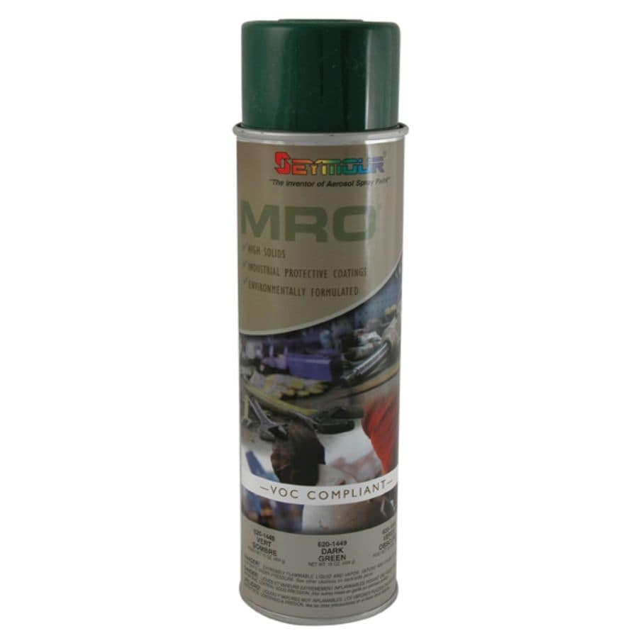 SEYMOUR Dark Green Indoor/Outdoor Spray Paint