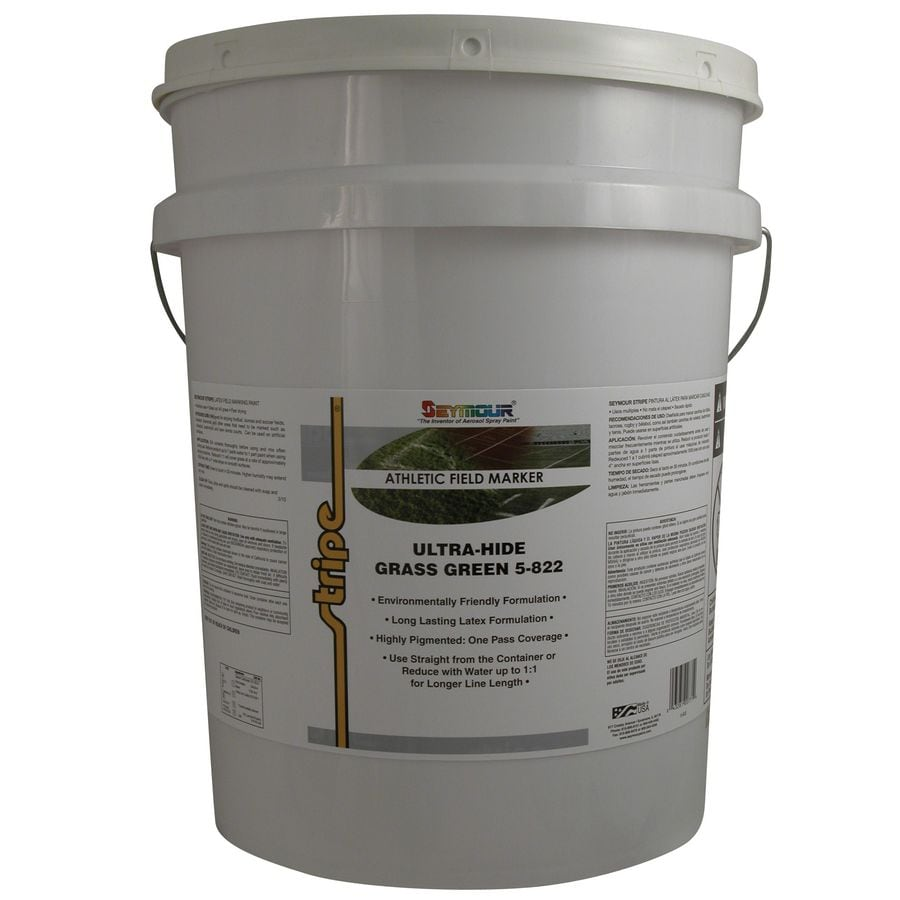 SEYMOUR Grass Green Water-Based Marking Paint (Actual Net Contents: 640-fl oz)