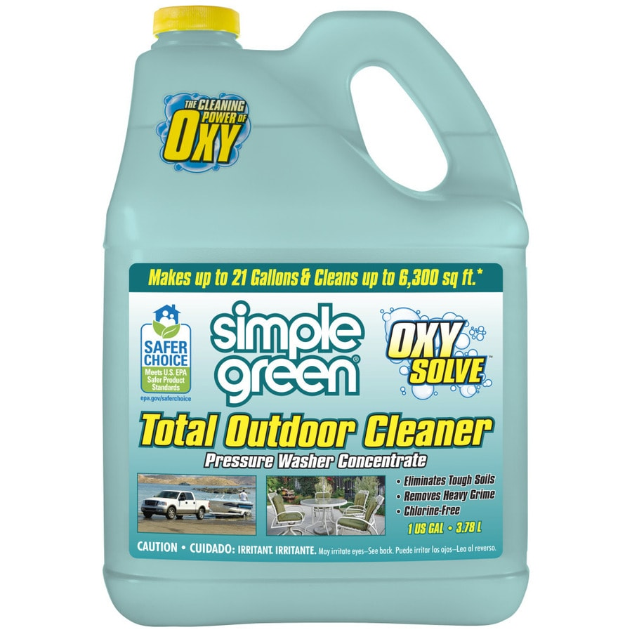 Simple Green Oxy Solve 1 Gallon Multi Purpose Pressure Washer Cleaner
