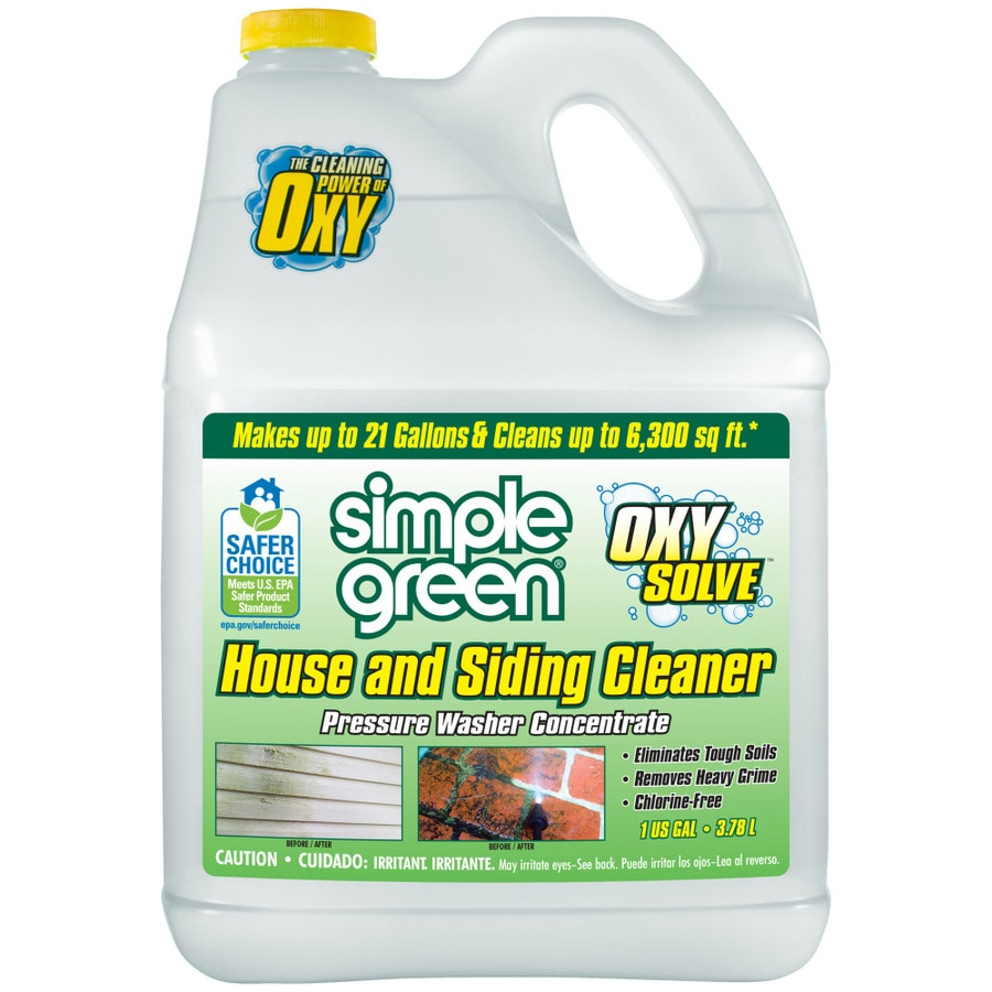 Simple Green Oxy Solve 1 Gallon House And Siding Pressure Washer Cleaner