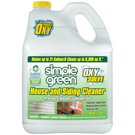 Simple Green Oxy Solve 1-Gallon House And Siding Pressure Washer Cleaner
