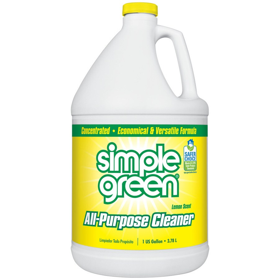 shop simple green 1 gallon lemon all purpose cleaner at. Black Bedroom Furniture Sets. Home Design Ideas