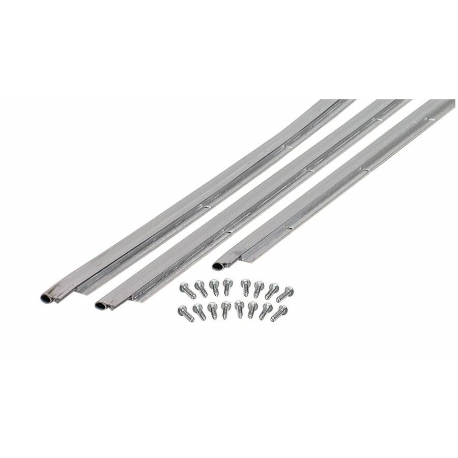 M-D Building Products 7-ft Silver Top & Sides Door Jamb Kit Aluminum/Vinyl Door Weatherstrip