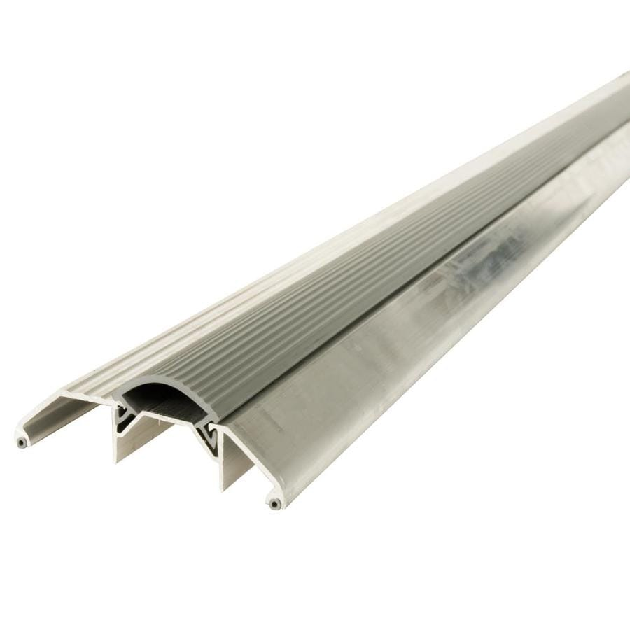 Shop M D 1125 In X 36 In Aluminum Door Threshold At Lowes