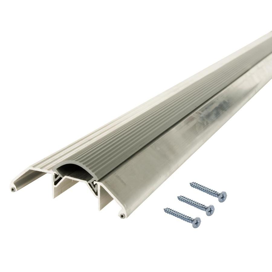 M-D 72-1/8-in L x 3-3/4-in W Aluminum and Vinyl Door Threshold