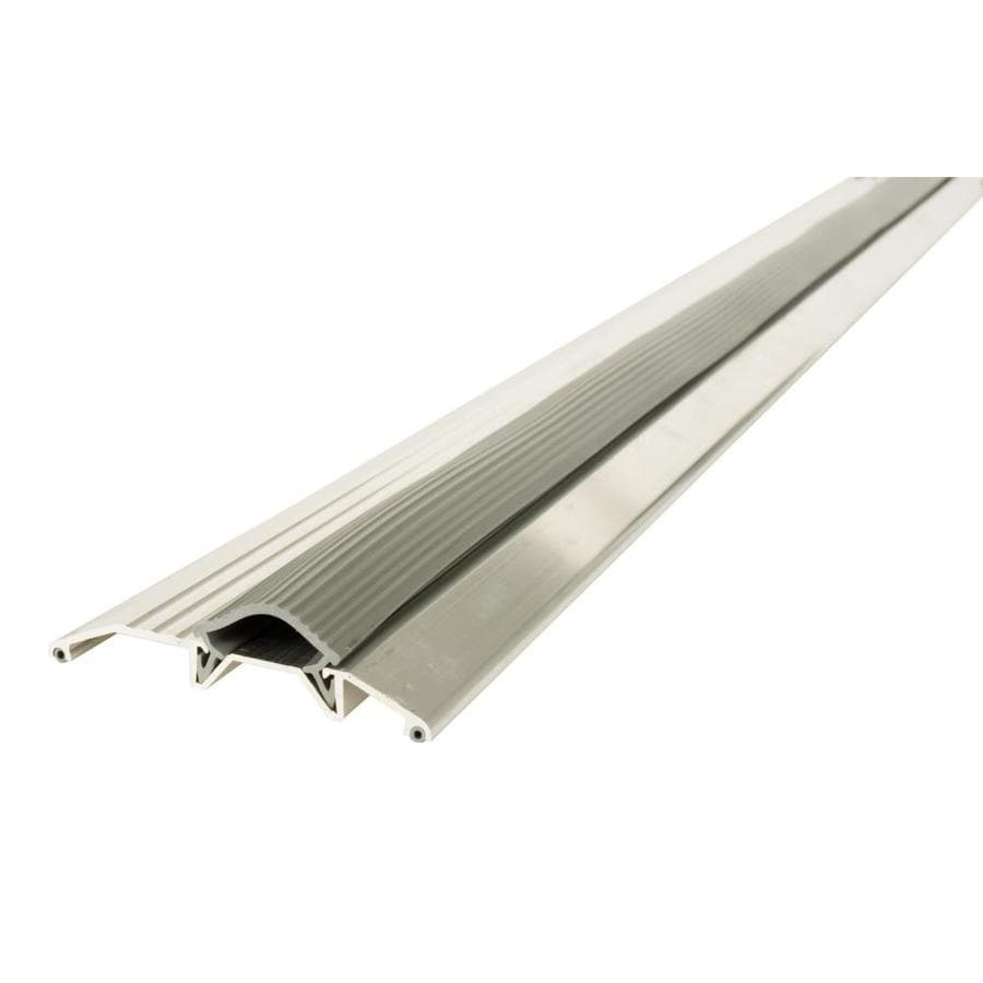 Shop door thresholds at lowes m d 075 in x 36 in aluminum door threshold rubansaba