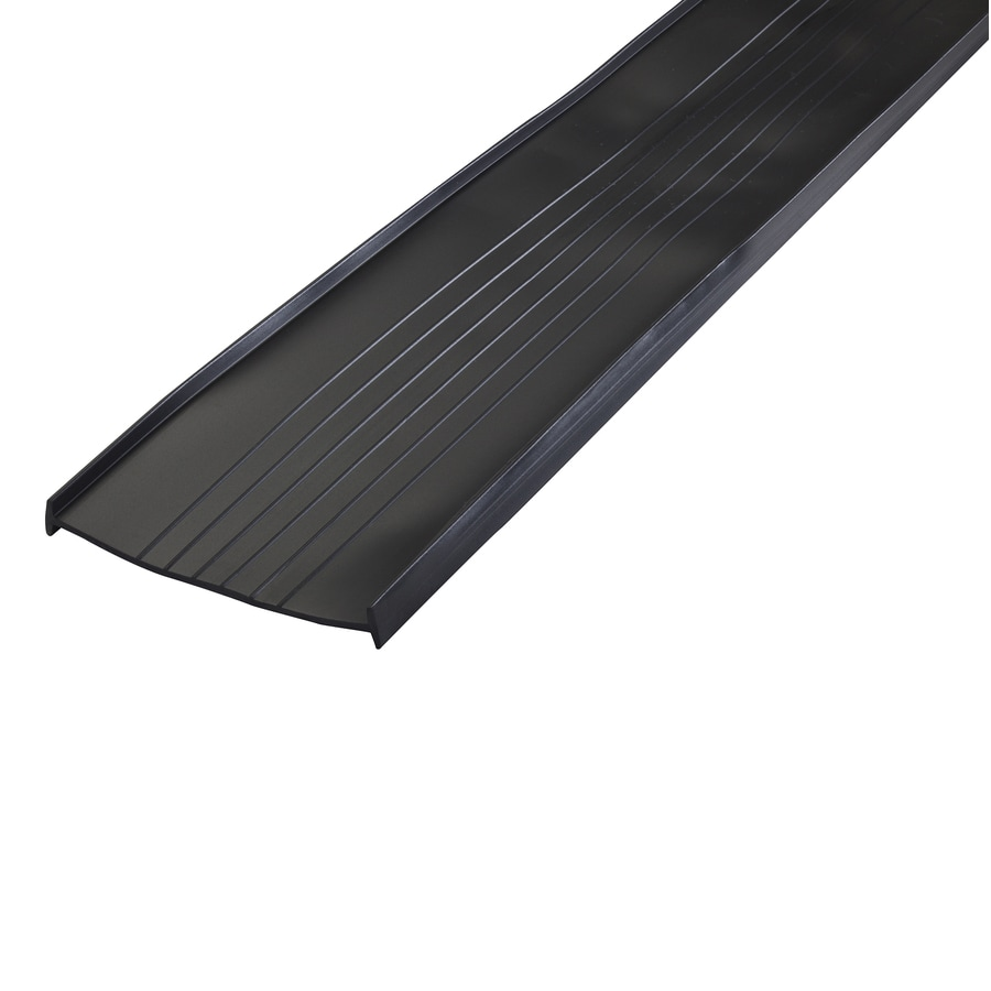 Shop m d 16 ft black vinyl garage weatherstrip at lowes m d 16 ft black vinyl garage weatherstrip rubansaba