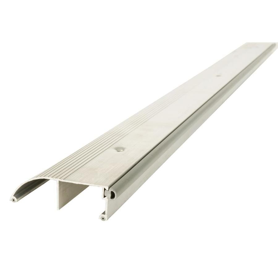 Shop M D 1 In X 36 In Aluminum Door Threshold At Lowes