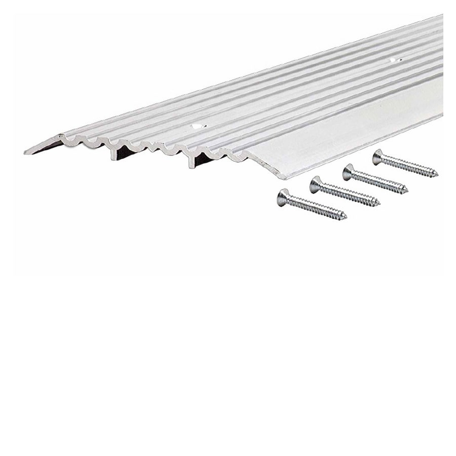 Shop door thresholds at lowes m d 05 in x 36 in aluminum door threshold rubansaba