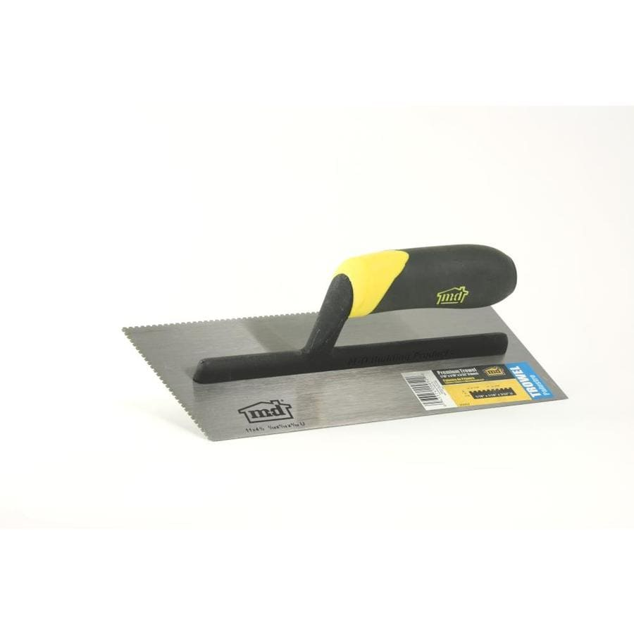 Shop flooring trowels at lowes m d u notch carpet floor trowel dailygadgetfo Gallery